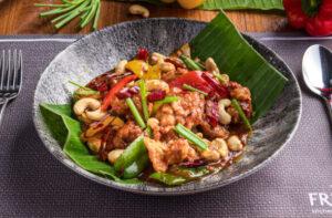 Organic chicken cashew nut