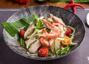 seafood vermicelli salad