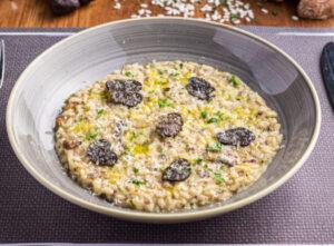 Black-truffle-risotto