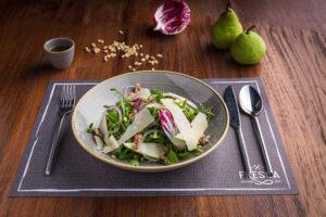 rucula & pear salad