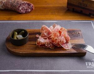 French saucisson platter