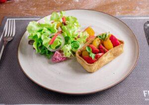 Tomato tart fresca kitchens rawai phuket